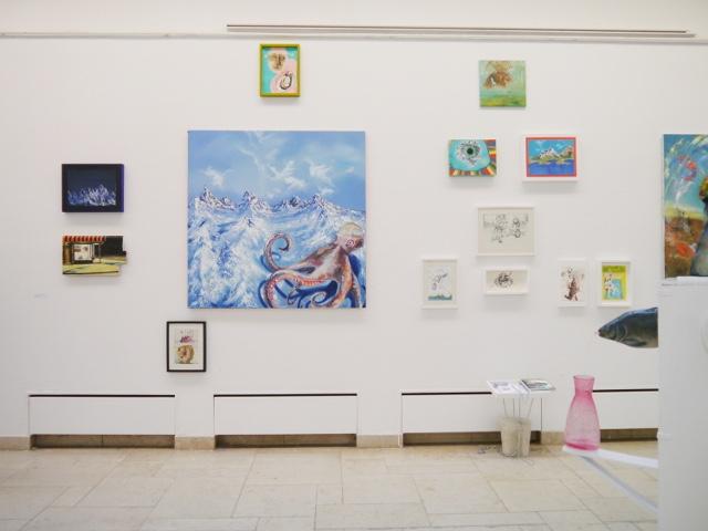 2013-Ausstellung-Freiheit-2-Brunnen-Fisch-Krake-Luisa-Pohlmann-Kunst-Berlin