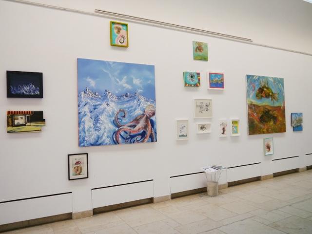 2013-Ausstellung-Freiheit-4-Brunnen-Fisch-Krake-Luisa-Pohlmann-Kunst-Berlin