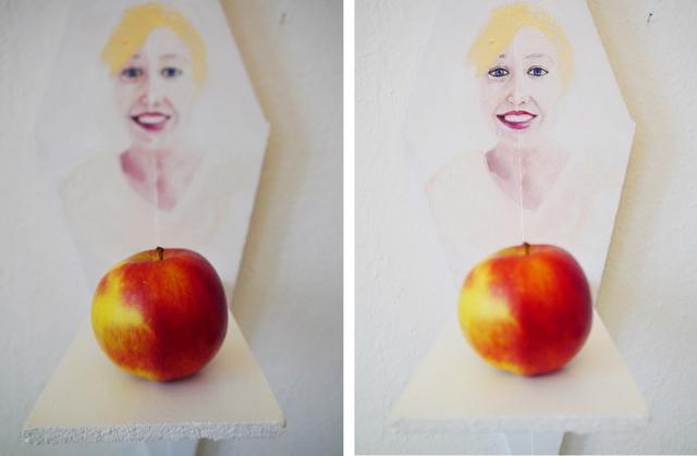 2013-Malerei-Freiheit-11-portrait-apfel-Luisa-Pohlmann-Kunst-Berlin