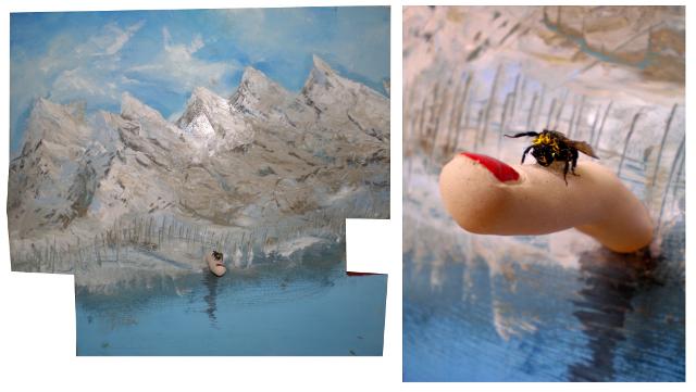 2013-Malerei-Freiheit-12-berge-finger-hummel-fliegen-Luisa-Pohlmann-Kunst-Berlin