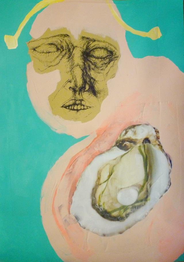 2013-Malerei-Freiheit-20-muschel-schnecke-Luisa-Pohlmann-Kunst-Berlin