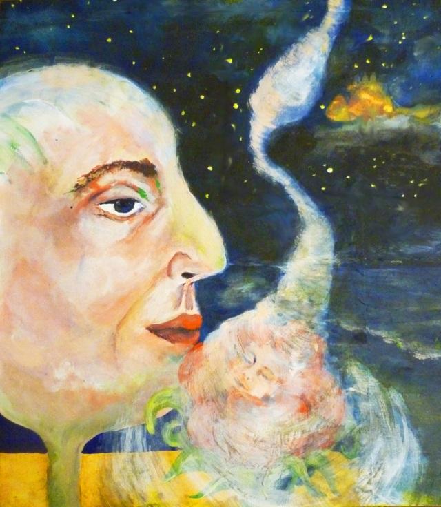 2013-Malerei-Freiheit-21-schlaf-traum-blume-sternenhimmel-Luisa-Pohlmann-Kunst-Berlin