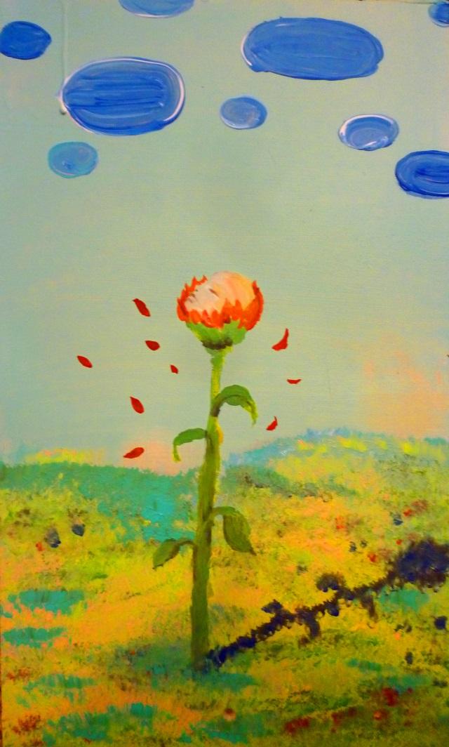 2013-Malerei-Freiheit-34-blume-wiese-wolken-Luisa-Pohlmann-Kunst-Berlin