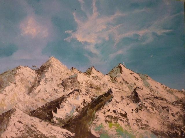 2013-Malerei-Freiheit-35-sonne-schnee-wolken-berge-Luisa-Pohlmann-Kunst-Berlin