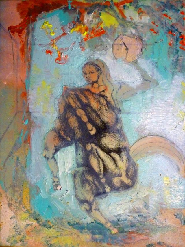 2013-Malerei-Freiheit-42-reiter-pferd-zeit-Luisa-Pohlmann-Kunst-Berlin
