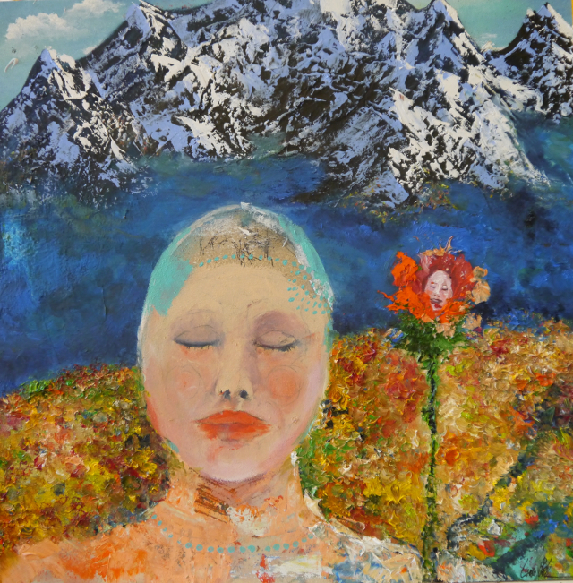 2013-Malerei-Freiheit-5-träumen-alpen-berge-schnee-wiese-Luisa-Pohlmann-Kunst-Berlin