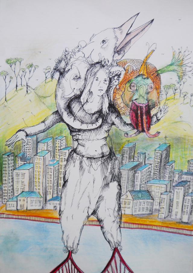 2013-Zeichnung-Freiheit-12-san-francisco-golden-gate-bridge-Luisa-Pohlmann-Kunst-Berlin
