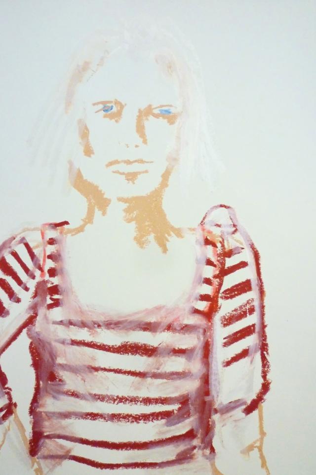 2013-Zeichnung-Freiheit-19-streifen-mädchen-Luisa-Pohlmann-Kunst-Berlin
