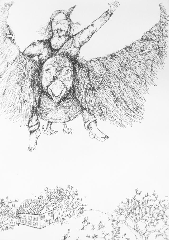 2013-Zeichnung-Freiheit-29-fliegen-vogel-krabat-Luisa-Pohlmann-Kunst-Berlin