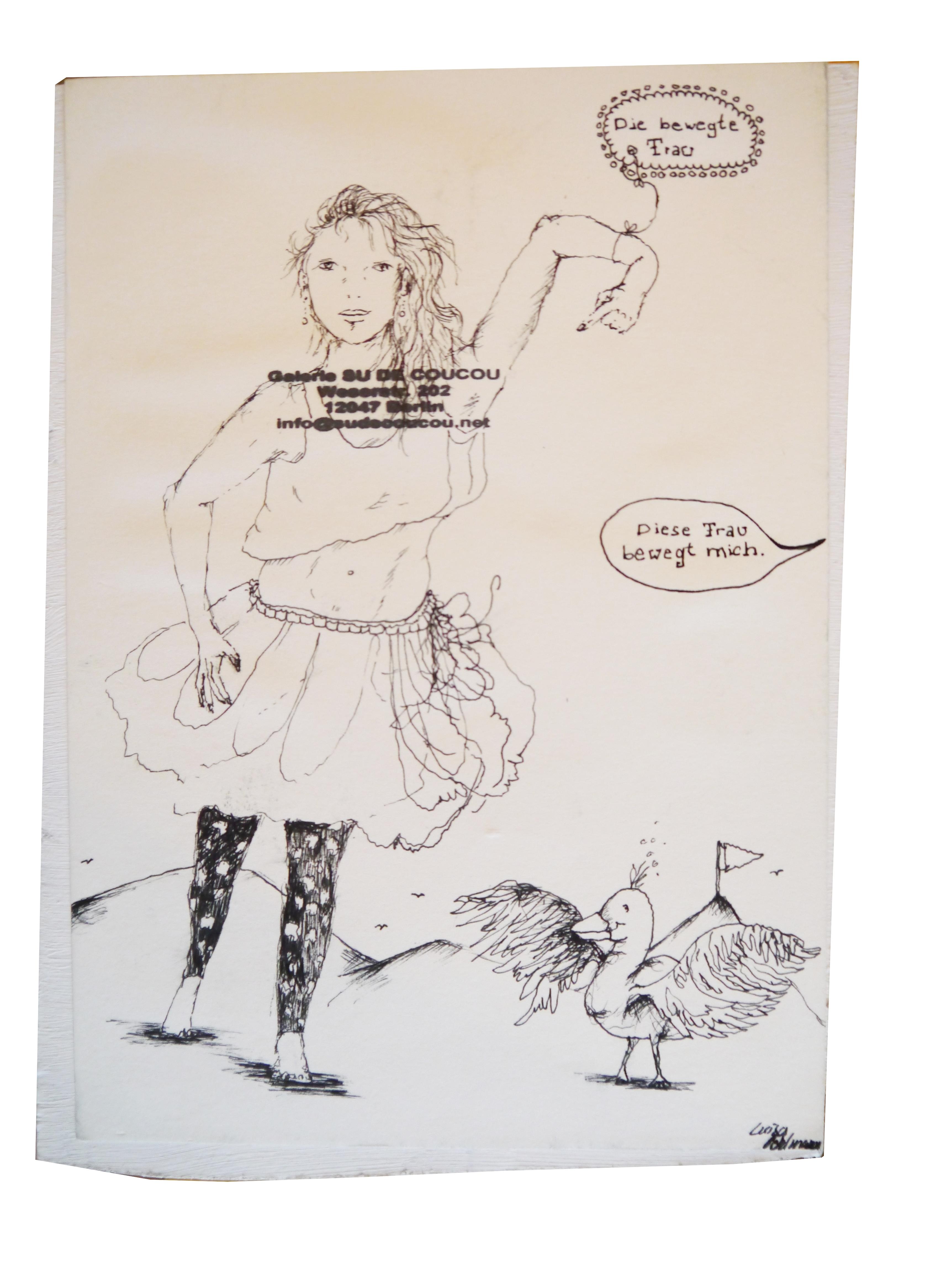 2013-Zeichnung-Freiheit-31-Frau-begeisterung-Luisa-Pohlmann-Kunst-Berlin