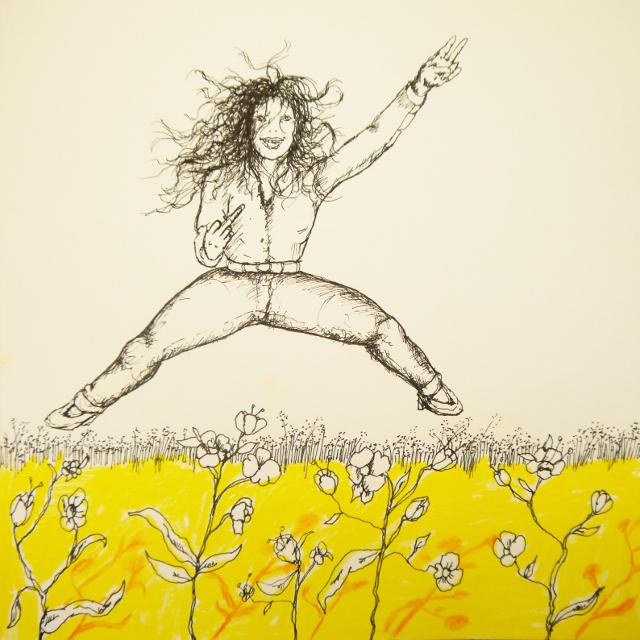 2013-Zeichnung-Freiheit-32-freudensprung-fuck-you-Luisa-Pohlmann-Kunst-Berlin