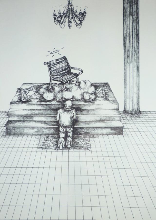 2013-Zeichnung-Freiheit-40-geld-banken-schein-ausbeutung-Luisa-Pohlmann-Kunst-Berlin