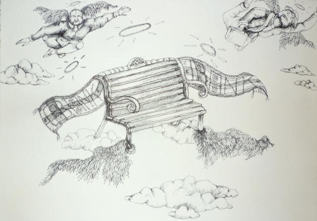 2013-Zeichnung-Freiheit-41-geld-banken-schein-ausbeutung-Luisa-Pohlmann-Kunst-Berlin