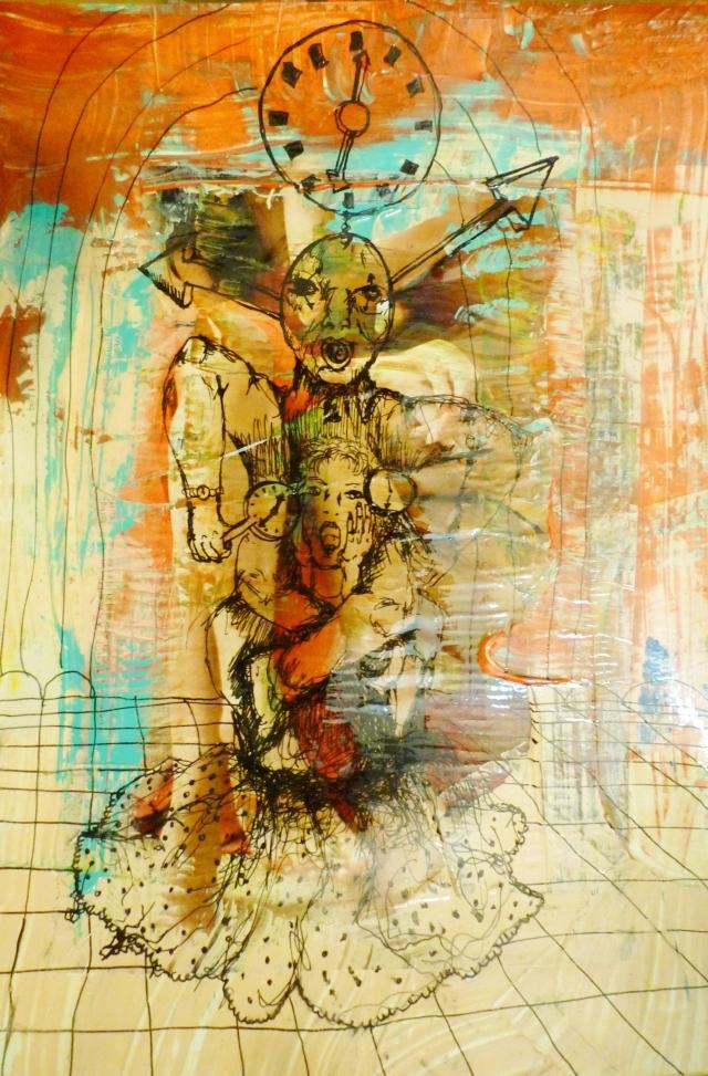 2013-Zeichnung-Freiheit-42-zeit-bedrohung-Luisa-Pohlmann-Kunst-Berlin