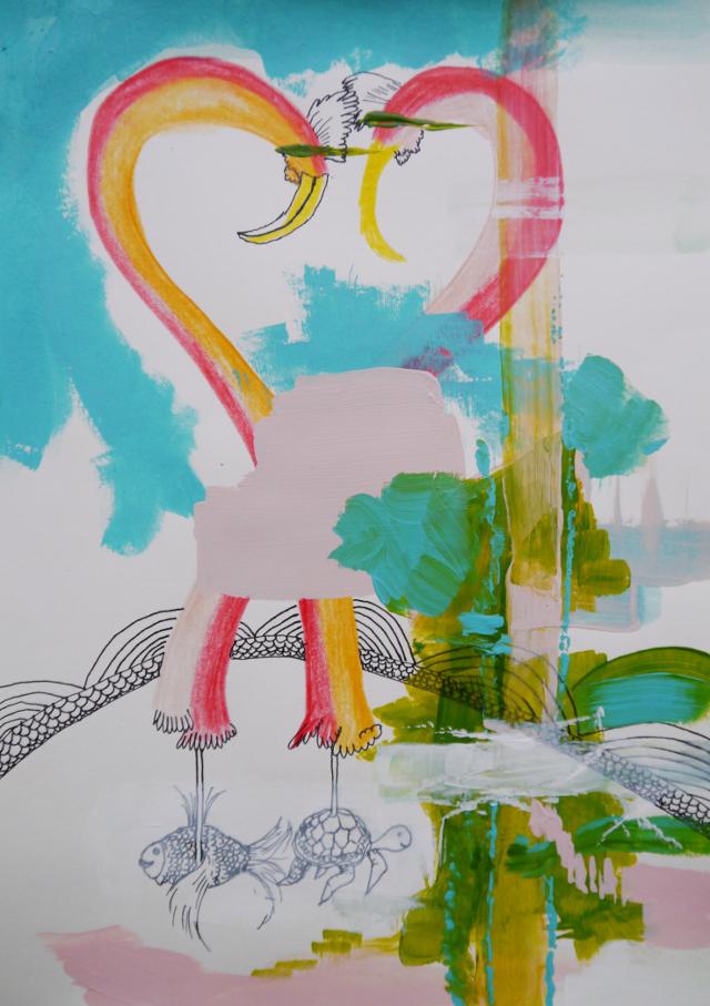 2013-Zeichnung-Freiheit-46-pelikan-Luisa-Pohlmann-Kunst-Berlin