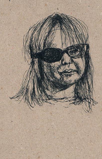 2014-Zeichnung-Kosmos-25-kleines-mädchen-brille-Luisa-Pohlmann-Kunst-Berlin