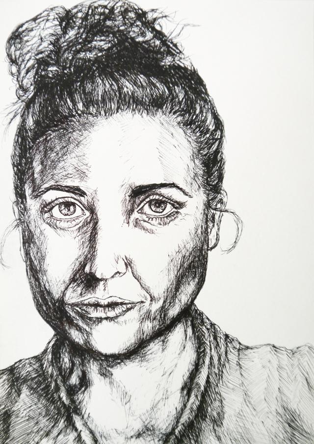 2014-Zeichnung-Kosmos-3-portrait-katharina-schenk-Luisa-Pohlmann-Kunst-Berlin