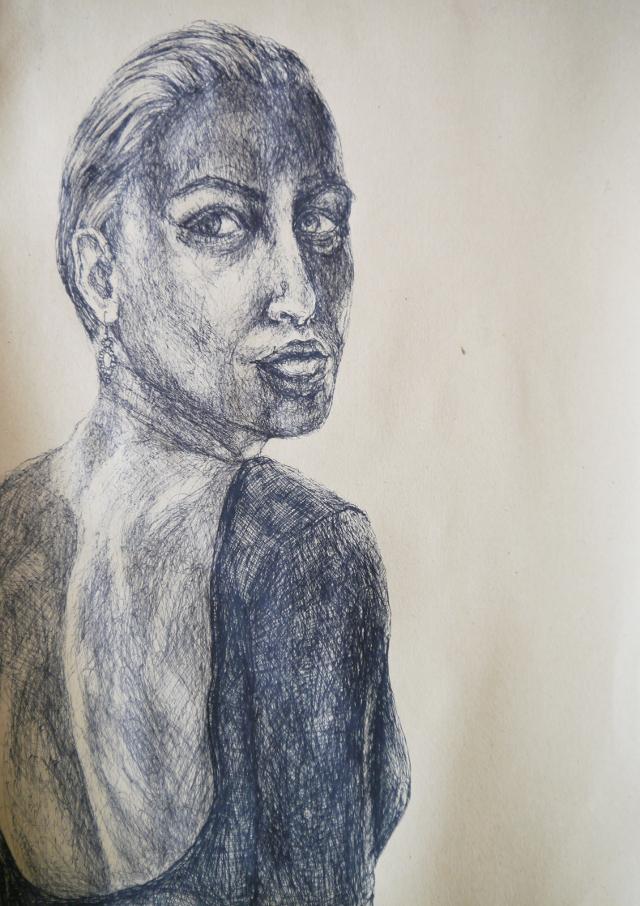 2014-Zeichnung-Kosmos-4-portrait-rücken-Luisa-Pohlmann-Kunst-Berlin