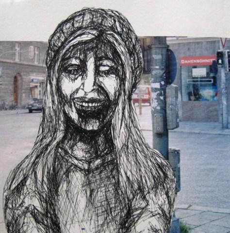 2008-Zeichnung-Farbe-6-lachen-Mädchen-Luisa-Pohlmann-Kunst-Berlin