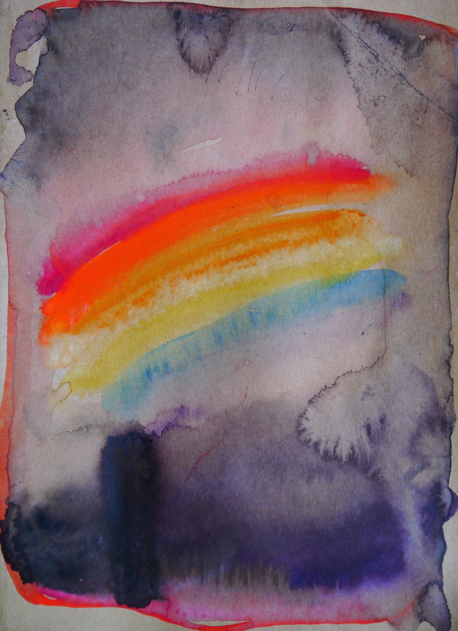 painting art space watercolor geometry geometrie aquarell cosmos cosmic malerei universe universum formen colorful silence aesthetic  kunst rainbow